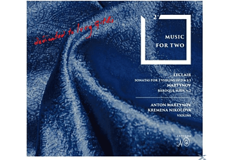 Kremena Nikolova - Sonaten für 2 Violinen op.3/Baroque Suite 2  - (CD)