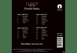 Paul Beier - Die Französischen Suiten BWV 812-815  - (CD)