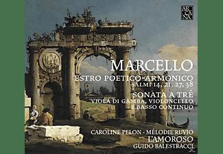 L'amoroso - Estro Poetico - Armonico - Salmi 14, 21, 27 & 38  - (CD)
