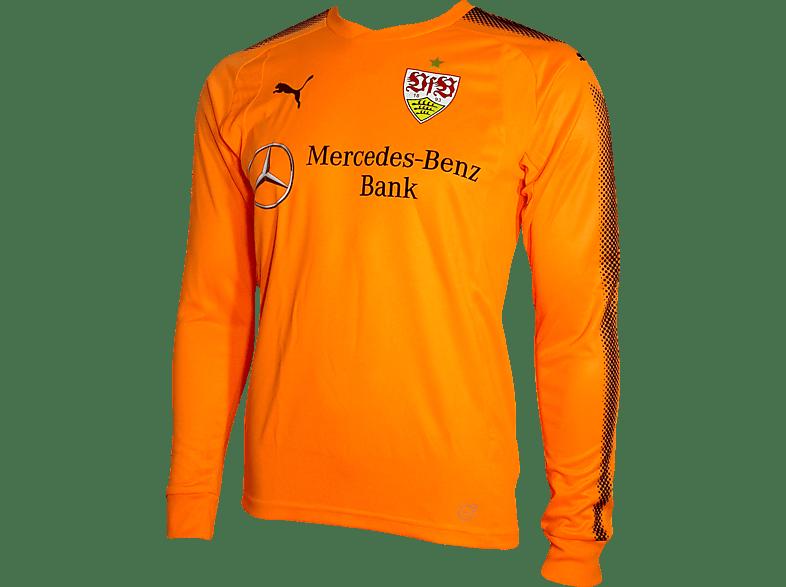 PUMA VfB Stuttgart Torwarttrikot, Orange/Schwarz