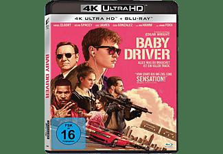 Baby Driver [4K Ultra HD Blu-ray + Blu-ray]
