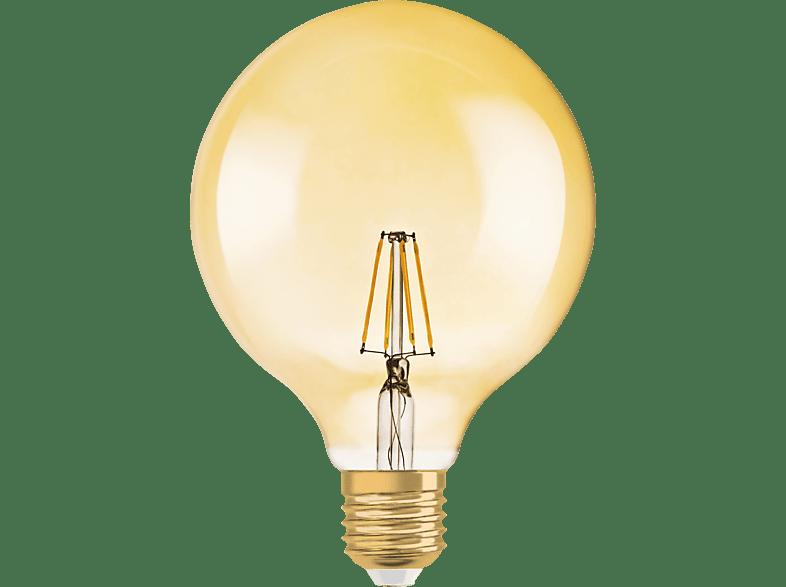 OSRAM 809406 Vintage LED Leuchtmittel E27 Gold 7 Watt 650 Lumen