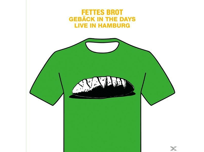 Fettes Brot - Gebäck In The Days-Live In Hamburg 2016/2LP+DVD [LP + DVD Video]
