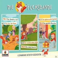 Die Fuchsbande - Die Fuchsbande: 01/3er Detektiv-Box (Folgen 1/2/3) - (CD)