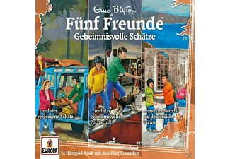 Fünf Freunde - 031/3er-Box-Geheimnisvolle Schätze (Folgen 101/  - (CD)