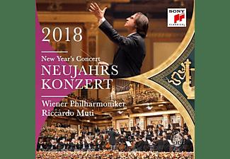 Wiener Philharmoniker - Neujahrskonzert 2018  - (CD)