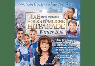 VARIOUS - Die volkstümliche Hitparade-Winter 2018  - (CD)