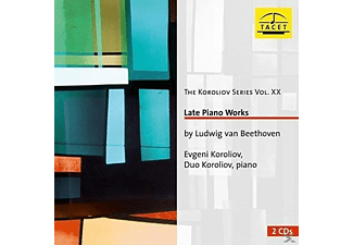 Evgeni Koroliov, Duo Koroliov - Beethoven: Late Piano Works - (CD)