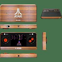 PQUBE Atari Retro Handheld Konsole (inkl. 50 Spiele) , Handheld Konsole, Braun