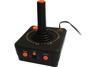 Retro Plug & Play TV - Joystick - Schwarz/Rot