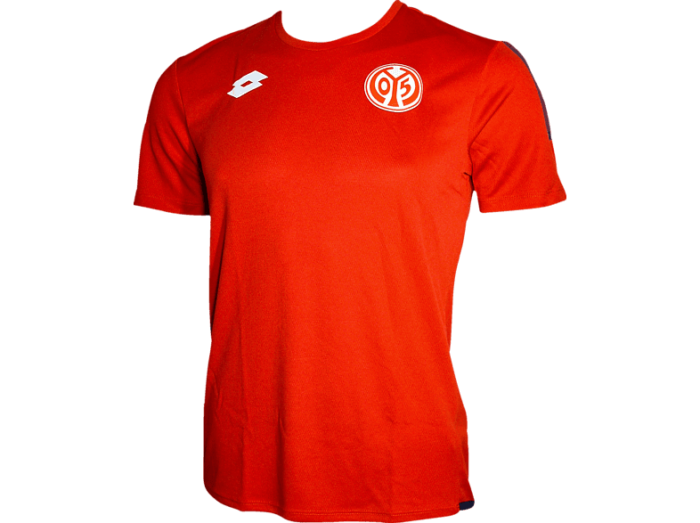 LOTTO FSV Mainz 05 Trainingsshirt, Rot/Weiß