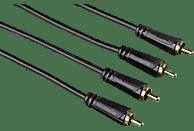HAMA Cinch-Stecker 3 m Audio Kabel