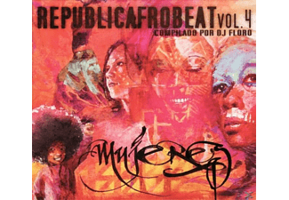 VARIOUS - Republicafrobeat.Mujeres  - (CD)
