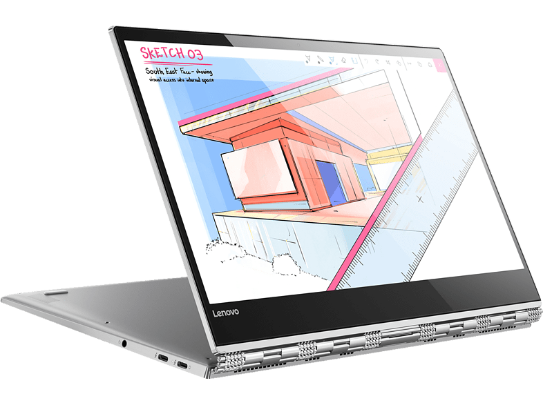 LENOVO Yoga 920 Star Wars™ Special Edition Galactic Empire, Convertible mit 13.9 Zoll Display, Core™ i5 Prozessor, 8 GB RAM, 256 GB SSD, Intel® UHD-Grafik 620, Platinum