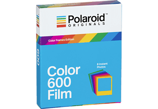 POLAROIDORIGINALS Sofortbildfilm Color 600 Film Color Frames Edition für 8 Fotos
