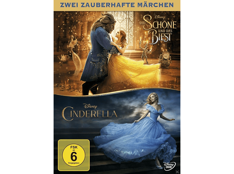 Die Schöne und das Biest / Cinderella (Live-Action Doppelpack) [DVD]