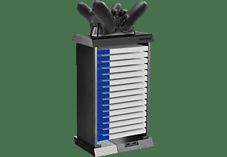 SNAKEBYTE Charge Tower Pro BLK + zweif. Ladesch. Zubehör für PS4, Schwarz