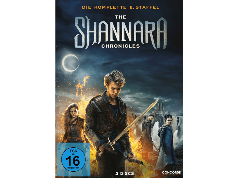 The Shannara Chronicles - Die komplette 2. Staffel [DVD]