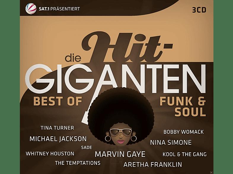 VARIOUS - Die Hit Giganten Best Of Funk & Soul [CD]