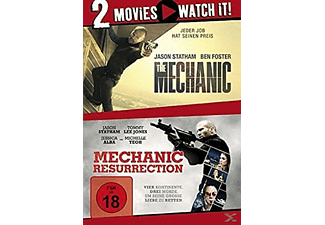 THE MECHANIC/MECHANIC RESURRECTION - (DVD)