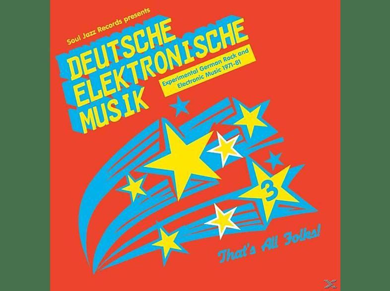 VARIOUS - Deutsche Elektronische Musik 3 (1971-1981) [CD]