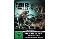 Men in Black 1-3 (Steelbook) [4K Ultra HD Blu-ray]
