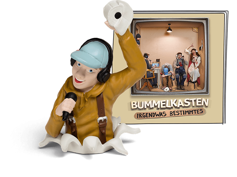 BOXINE Tonie-Hörfigur: Bummelkasten – Irgendwas Bestimmtes Hörfigur, Mehrfarbig