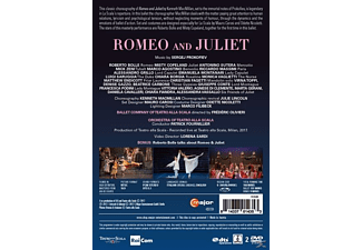 Roberto Bolle, Misty Copeland, Ballet Company and Orchestra of Teatro alla Scala - Romeo And Juliet  - (DVD)