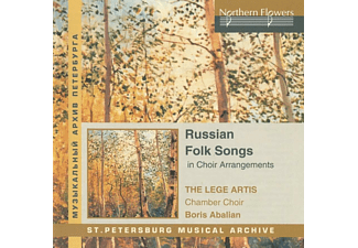 Lege Artis Chamber Choir St. Petersburg - Russian Folk Songs - (CD)