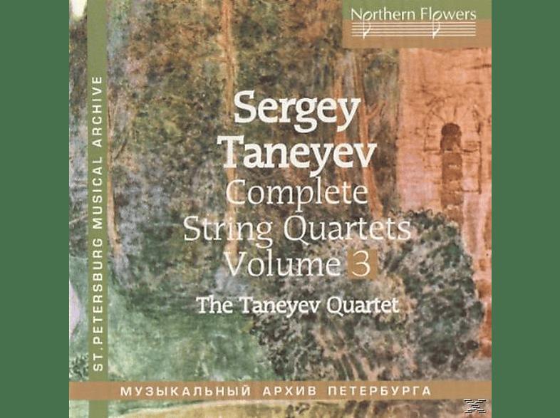 Taneyev Quartet - Complete String Quartets vol.3 [CD]