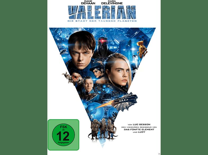 Valerian - Die Stadt der tausend Planeten [DVD]