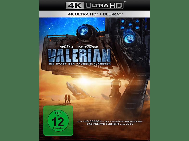 Valerian - Die Stadt der tausend Planeten [4K Ultra HD Blu-ray + Blu-ray]