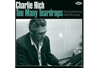 Charlie Rich - Too Many Teardrops-Complete Groove & Rca Rec. - (CD)