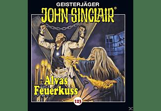 John Sinclair-folge 123 - John Sinclair-folge 123 - Alvas Feuerkuss  - (CD)