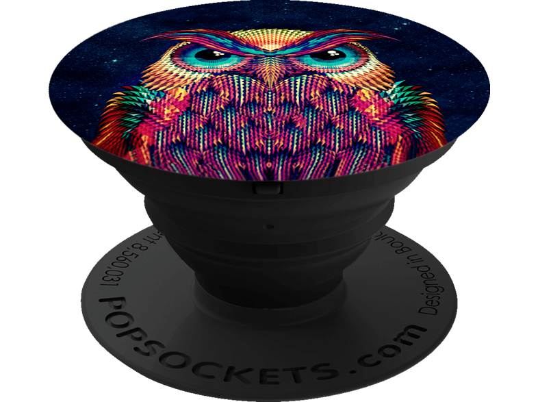 POPSOCKETS OWL Phone Grip & Stand, mehrfarbig