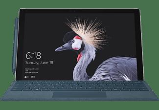 MICROSOFT Surface Pro, Convertible mit 12,3 Zoll Display, Core™ m3 Prozessor, 4 GB RAM, 128 GB SSD, Intel® HD-Grafik 615, Silber