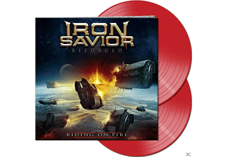 Iron Savior - Reforged - Riding On Fire (Gtf. Red 2 Vinyl)  - (Vinyl)