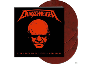 Dirkschneider - Live-Back To The Roots-Accepted! (Marbled 3LP)  - (Vinyl)