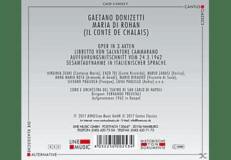 Coro E Orchestra Del Teatro Di San Carlo Di Napoli - Maria Di Rohan (Il Conte De Chalais)  - (CD)