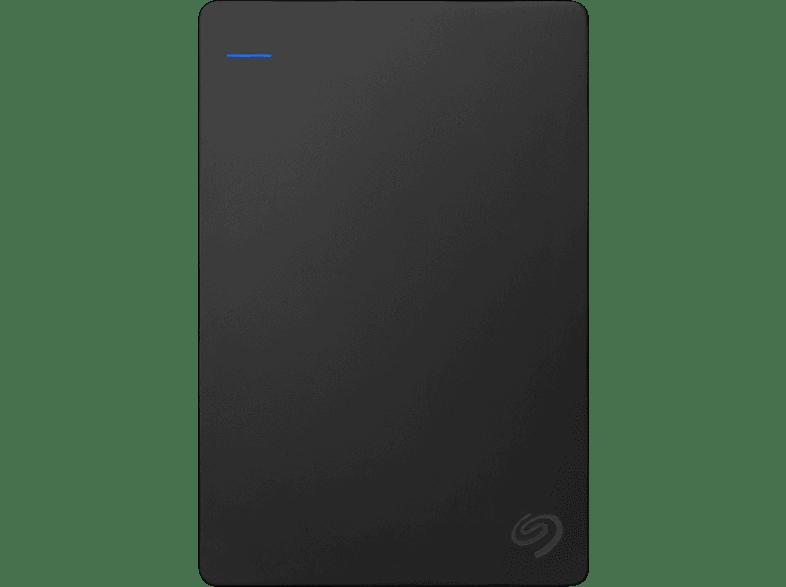 SEAGATE STGD4000400 Game Drive 4 TB für PS4 , Portable Festplatte, Schwarz