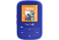 SANDISK Clip Sport Plus Mp3-Player (16 GB, Blau)