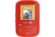 SANDISK Clip Sport Plus Mp3-Player (16 GB, Rot)
