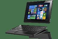 LENOVO Miix 320, Convertible mit 10.1 Zoll Display, Atom®x5 Prozessor, 4 GB RAM, 64 GB eMMC, Intel® HD-Grafik 400, Platinsilber