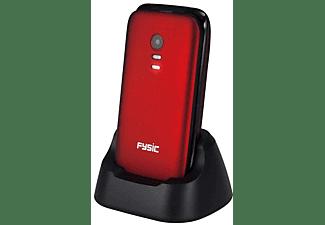 FYSIC FM-9710 Senioren-GSM Rood
