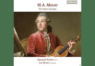 Luc Devos, Sigiswald Kuijken - Die Violinsonaten  - (CD)