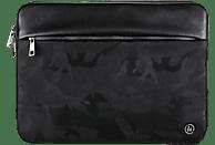 HAMA Mission Camo Notebooktasche, Sleeve, 13.3 Zoll, Camouflage/Gun Metal/Schwarz