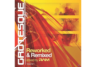 VARIOUS - Grotesque Reworked & Remixed  - (CD)