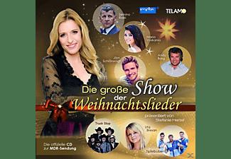 VARIOUS - Stefanie Hertel präs.die große Show der Weihnacht  - (CD)