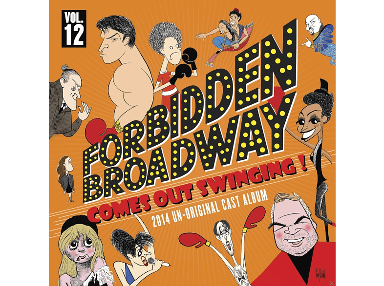 Forbidden Broadway - Comes Out Swinging [CD]
