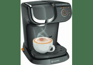 Cafetera de cápsulas Bosch Tassimo TAS6002 MY WAY, negro, automática, 1.3 L, panel táctil